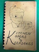 Jz518 Kitchen Kapers And Keepsakes Zion Lutheran Church Women Buffalo Lake Minn