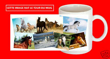 mug tasse cheval chevaux personnalisé avec ou sans texte au choix réf 08