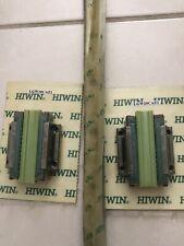"2 Hiwin linear Guide way block LGW20CAZ1 and 1 Hiwin Linear Rail 38"" or 23.5"""