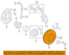 TOYOTA OEM 07-15 Tundra Front Brake-Disc Rotor 435120C020