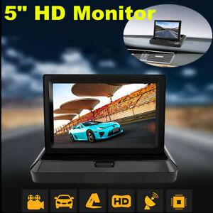 "12V 24V 5"" Digital TFT LCD Screen Rear View Monitor For DVD Car Reverse Camera"