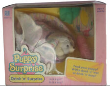 Rare Hasbro Vintage  Puppy Surprise , Drink 'n' Surprise