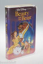 rare BLACK DIAMOND Beauty And The Beast 1992 Walt Disney VHS TAPE Christmas Lead