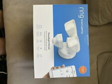 Ring Smart Lighting – Floodlight, Wired, Motion-Sensor Security Light, White
