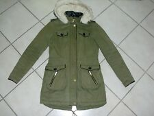PARKA  ♥ WINTERMANTEL ♥ MANTEL ♥ YESSICA by C&A ♥ Gr. 34 in khaki mit Fell ♥