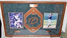 "Curt Schilling Randy Johnson 2001 World Series MVP Framed Picture Signed 34""x22"""