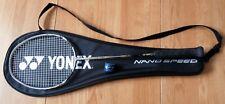 Yonex Nanospeed 800 Badminton Racket - Restrung - Includes Case/Carrier & Grip