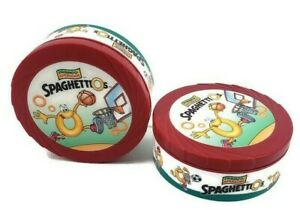 Rare 1999 Spaghetti O's Insulated Bowl/Travel container w/Lid Set of 2