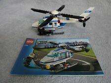 Lego 7741 Polizei - Hubschrauber, mit Bauanleitung
