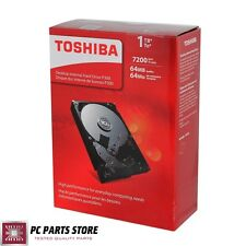 "Toshiba Internal Hard Disk Drive 1TB P300 SATA III 6Gb/s 3.5"" 7200 64MB Desktop"