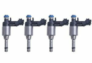 Genuine set otf 4 Fuel Injectors  for Hyundai Accent VELOSTER  # 353102B110
