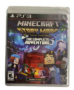 PLAYSTATION 3 PS3 GAME MINECRAFT STORY MODE COMPLETE ADVENTURE Brand New SEALED