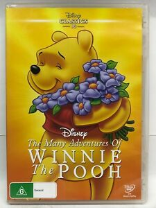 The Many Adventures of Winnie The Pooh - DVD - AusPost with Tracking