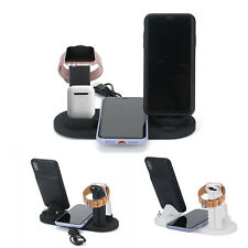 Wireless Charger Stand 3 In 1 Charging Dock Apple Watch Series/iPhone Station UK