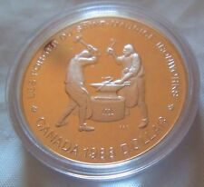 Canada 1988 Proof  Silver Dollar Ironworkers 23.33 Gram, .500 fine silver