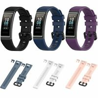 Replacement Silicone Bracelet Wrist Strap Band for Huawei Band 3/3 Pro Watch