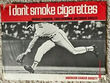 1971 Brooks Robinson American Cancer Society Poster