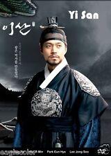 Yi San Korean Drama (16DVDs) Excellent English & Quality - Box Set!