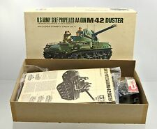 TAMIYA 1/35 MT-327 598 U.S. ARMY M-42 SELF- PROPELLED AA GUN MODEL KIT