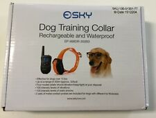Esky Shock Collar 330yds Remote Dog Training Collar Open Box. Bought Never Used!