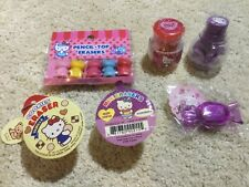 New Vintage Hello Kitty eraser lot Sanrio
