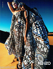 PUBLICITE ADVERTISING 096  2010  Kenzo  haute couture