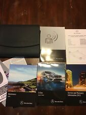 2015 MERCEDES BENZ S CLASS MODELS Owners Operators Owner Manual SET W CASE