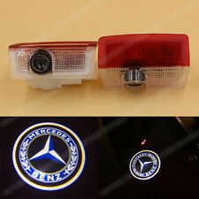 2x LED Door Step Welcome Laser Shadow Light for Mercedes-Benz E W212 E63 W166