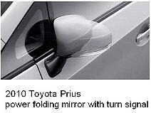 TOYOTA PRIUS LED power-folding signal side mirror pair/2010~2017/Heated