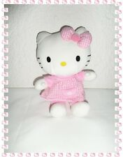C - Magnifique Peluche Doudou Hello Kitty Assise Sanrio