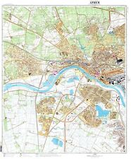 Russian Soviet Military Topographic Maps - ARNHEM (Netherlands),1:10K, REPRINT
