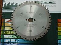 HM/Widia Handkreissägeblatt 165 x 20 Z 48 Stehle für Alu und Holz