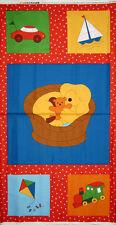 Nursery Fabric - Dog Sailboat Baby Goodnight #5517 Andover Fabrics - Panel