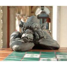 Gothic Sleepy Gargoyle Sculpture Medieval Guardian Home Garden Gallery Statue