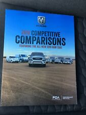 2018 DODGE RAM COMPETITIVE COMPARISONS - 282-page Original Dealer Sales Brochure