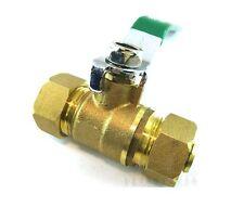 "Pex-Al-Pex Tubing Mender 3/4"" To 3/4"" Compression Ball Valve Brass Fitting  J0Q"