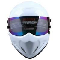 Motorcycle Street Bike Full Face Flip Up Helmet ATV Karting Racing Headwear