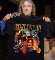 Merry christmas Led Zeppelin T-Shirts Women Mens Black S-4XL Xmas Gift FF1886