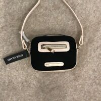 BNWT River Island Black Beige Handbag Crossbody Bag