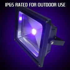 Al aire libre Uv Blacklight Foco 50w De Potencia, de haz ancho, Ip65 certificada, Reino Unido Stock