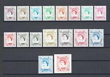 GIBRALTAR 1999-2001 SG 857/71 MNH Cat £42