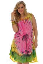 Summer/Beach Asymmetrical Hem Machine Washable Dresses for Women