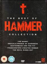The Best Of Hammer. 5 DVD Horror Box. New In Shrink!