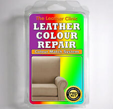 BEIGE Leather Dye Colour Repair Kit for Scratched & Worn Leather