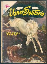 EL LLANERO SOLITARIO # 127 PRESENTA PLATA SPANISH MEXICAN COMIC NOVARO
