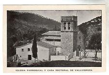 Iglesia Parroquial - Vallvidrera Photo Postcard c1902