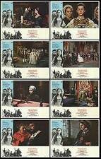 ANNE OF THE THOUSAND DAYS orig lobby card set RICHARD BURTON/GENEVIEVE BUJOLD