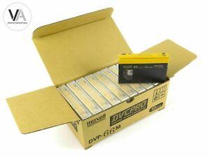 10er-Pack Maxell DVCPRO DVP-66M Videokassetten Cassetten 66 Minuten