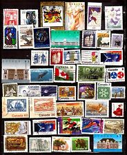 EP182/40 CANADA 45 timbres sans double : usages courants, sujets divers