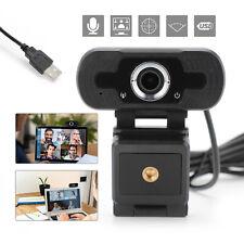Webcam HD 1920*1080 Kamera USB 2.0 3.0 Mit Mikrofon für Computer PC Mac Laptop